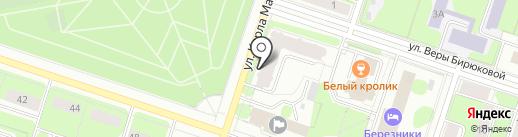 Бостон на карте Березников