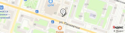 Банкомат, Банк ВТБ 24, ПАО на карте Березников
