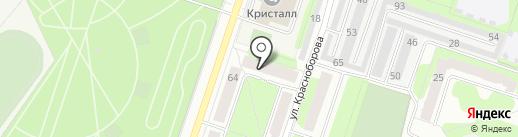 Центр Государственной инспекции по маломерным судам МЧС России по Пермскому краю на карте Березников