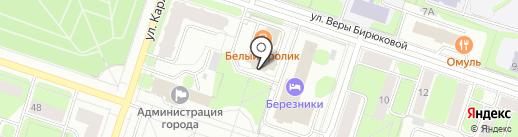 Пермский краевой центр подготовки кадров, АНО на карте Березников