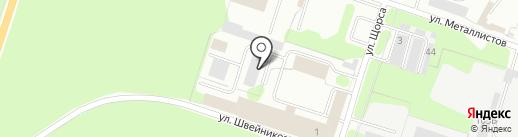 Некрополь на карте Березников