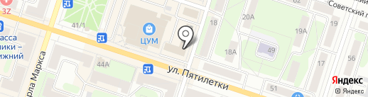 Ангел на карте Березников