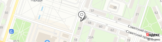 Валентина на карте Березников
