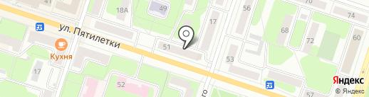 Компания по производству памятников на карте Березников