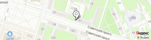 CORAL travel на карте Березников