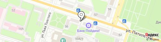 Артикул на карте Березников