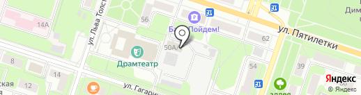 Российская телевизионная и радиовещательная сеть, ФГУП на карте Березников