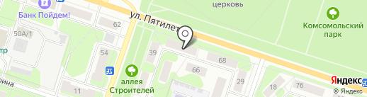Фарт на карте Березников