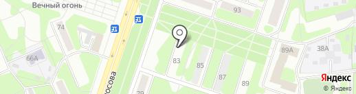 Дарина на карте Березников