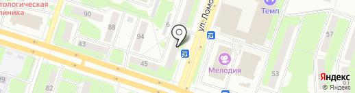 ПOZИТИВ на карте Березников