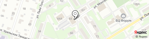 АВГУР на карте Березников