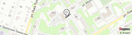 МеталлПолимерСтрой на карте Березников