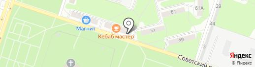 PIZZA на карте Березников
