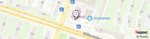 Банкомат, Газпромбанк на карте Березников