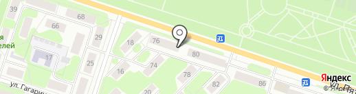 Импульс на карте Березников