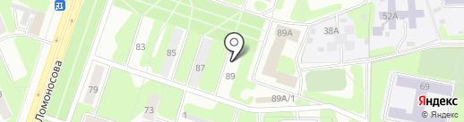 Адель на карте Березников