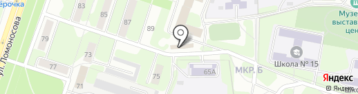 Miche на карте Березников