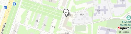 Дворец детского юношеского творчества на карте Березников