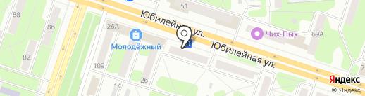 Медовая лавка на карте Березников