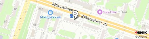 Ермолино на карте Березников