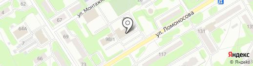 Механик на карте Березников