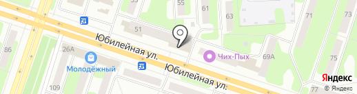 Магнит косметик на карте Березников