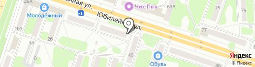 Хот-доги у дороги на карте Березников