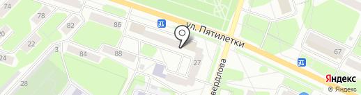 Бранд на карте Березников