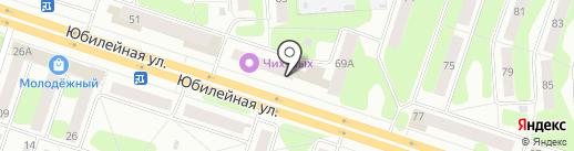 Глазовский на карте Березников