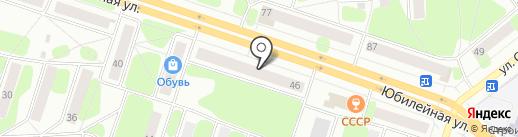 Бирвик-Строй на карте Березников