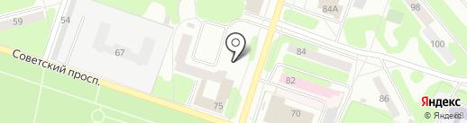 Строим сами на карте Березников