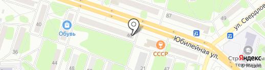 Почтовое отделение №22 на карте Березников