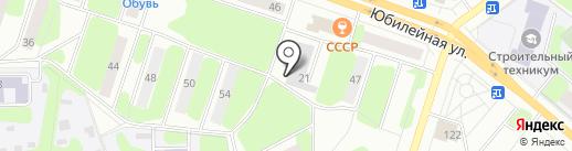 Мегашина на карте Березников