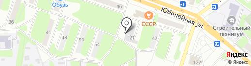 Скат на карте Березников