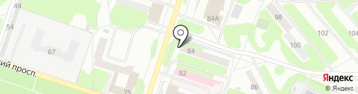 Костюмчик на карте Березников