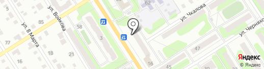 ПИВМЯС на карте Березников