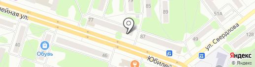 Заначка на карте Березников