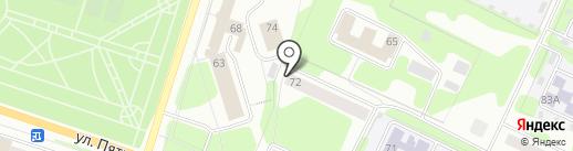 Березниковский содовый завод на карте Березников