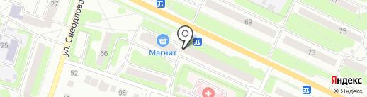 Золотой Теленок на карте Березников