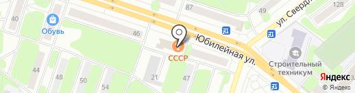 Стимул на карте Березников