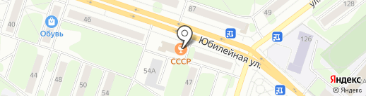 СССР на карте Березников