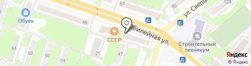 Платежный терминал, Восточный экспресс банк, ПАО на карте Березников