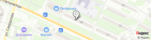 Эсти на карте Березников