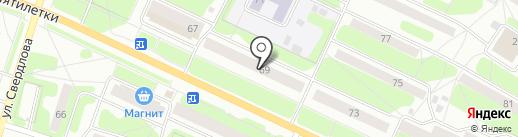ЛОМБАРД-МАГНИТ на карте Березников