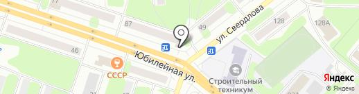 Магазин товаров смешанного типа на карте Березников