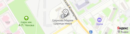 Анонимные наркоманы на карте Березников