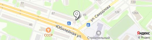 Клёвый продуктовый на карте Березников