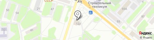 Фирменный киоск на карте Березников