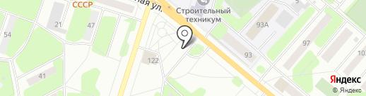 Виссон на карте Березников
