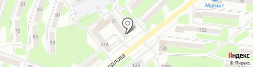 Ломбард Народный на карте Березников